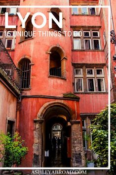 Lyon, France is a great destination to visit in Europe. If you're visiting Lyon and looking for something beyond the obvious things to do in Lyon, here are 15 unique things to do in Lyon that will make your trip memorable. Beautiful Places To Visit, Cool Places To Visit, Places To Go, Amazing Places, Aquitaine, European Destination, European Travel, Corsica, Loire Valley