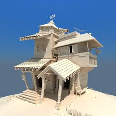 3d House Model images