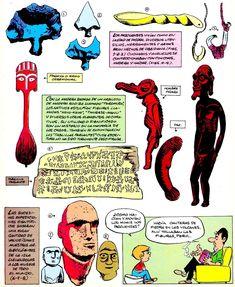Los comics de Machete: Mampato y Ogú: Rapanui Remo, Peanuts Comics, Comic Books, Cover, Art, Easter Island, Islands, Art Background, Drawing Cartoons