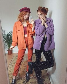 Pin by Brandy on vintage outfits in 2020 Retro Outfits, Mode Outfits, Grunge Outfits, Vintage Outfits, Vintage Fashion, Cute Fashion, Look Fashion, 90s Fashion, Fashion Outfits