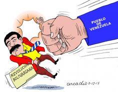 Golpe democrático del pueblo venezolano.