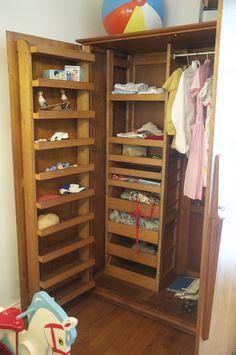 1000 images about rangement vin on pinterest diy shoe - Rangement armoire chambre ...