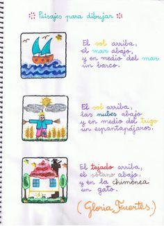 Paisajes para dibujar - Gloria Fuertes