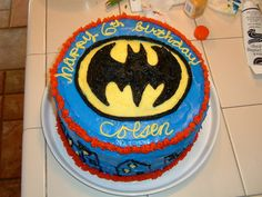 #cake, #batman, #birthday