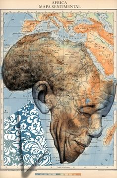 Nelson Mandela - Atlas Drawing, Fine Arts, Illustration    Fernando Vicente Madrid, Spain FollowCollection