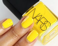 The Spicy New Limited Edition Thakoon for NARS Nail Collection for Summer 2012 Colorful Nail Designs, Cool Nail Designs, Hot Nails, Hair And Nails, Nars Nail Polish, No Chip Nails, Mellow Yellow, Color Yellow, Makeup And Beauty Blog