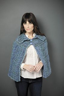 Ravelry: Collared Capelet pattern by Lion Brand Yarn