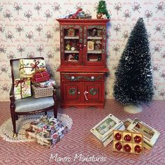 Miniature Scene Christmas ♡ ♡ By Manero
