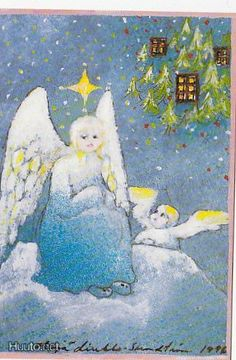 . Christmas Tale, Angel Images, Christmas Illustration, Finland, Metallica, Sculptures, Wall Art, Painting, Jewelry