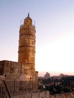 David tower at Temple Mount, Jerusalem.