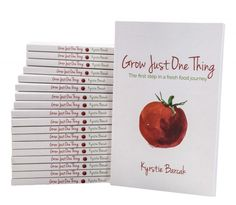 Read what people are saying about Grow Just One Thing - The first step in a fresh food journey by Kyrstie Barcak Backyard Vegetable Gardens, Grow Your Own, Book Reviews, First Step, Garden Inspiration, Gardening Tips, The One, Journey, Fresh