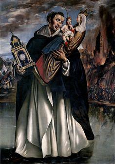 Juan Bautista Maíno Saint Hyacinth(1620-24) Patron saint of those in danger of drowning and of pierogis.