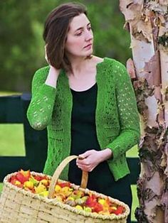 Ravelry: Three Lace Cardigan pattern by Tanis Gray