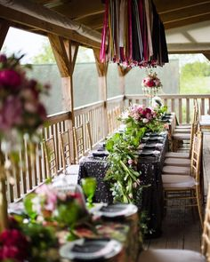 The outside deck at @rusticacresfarm is such a fabulous feature of the barn with seating up to 200 guests. On Sunday it was resplendent with luxe garden glam styling by @garnisheventdesign! From ribbon and candalabras to vines and moss accents our CEO & Creative Designer Jody Wimer sure covered it all.. and more! It is truly amazing how @rusticacresfarm can be transformed to whatever your wedding day dreamscape may be! {tap for details!} . . . #PittsburghWedding #burghbrides #burghwedding…