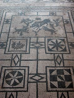 Pompeii Mosaic by Norm Walsh, via Flickr