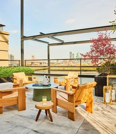 terrace Elle Decor, Paul Rudolph, Wooden Patios, Outdoor Furniture Sets, Outdoor Decor, The Great Outdoors, Interior, Terrace, House