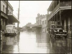 Beattie St in Balmain in the 1930s.