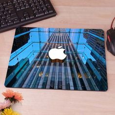 Apple Headquarter Durable Computer Mouse Pad Mousepad Decorate Your Desk Non-Skid Rubber Pad