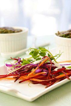 pretty salad (for side dish).