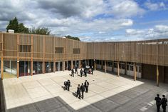 Park View Secondary School in Birmingham has been radically transformed by architects Haworth Tompkins as part of the Building Schools for the Future program...