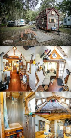 Quitting your job and embarking on a grand nomadic journey across the country used to mean leaving home sweet home behind, but with the rise of the tiny house movement, that's no longer the case.