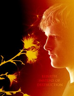 Peeta has always been symbolic of new beginnings for Katniss, starting with the dandelion in the spring idea and keeping with it throughout the series. He's what she needed. Gale was a great guy, but he let his need for revenge and destruction take over him. Katniss needed to heal, and I personally think Gale's bitterness would have been yet another obstacle for her to overcome on her way to regaining some semblance of normalcy and happiness.