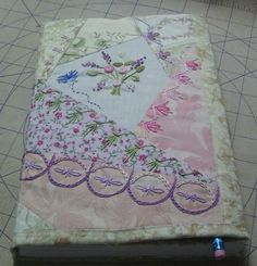 Tutorial: Sewing a journal cover · Needlework News | CraftGossip.com