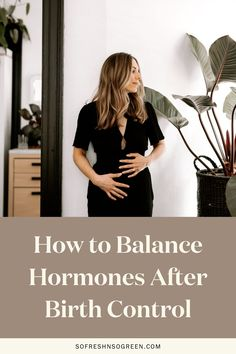 How to balance hormones after birth control. This guide is willed with hormone balancing recipes, grocery lists, and steps to help you optimize your health, happiness, energy and so much more. #fertility #hormones Fertility Food For Women, Fertility Foods, Female Fertility, Seed Cycling, Best Green Smoothie, Clean Diet, Hormone Imbalance, Hot Flashes, Hormone Balancing