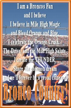 Go #Broncos