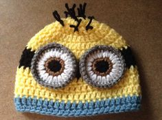 Minion Hat by 2SillyGirlsBoutique on Etsy, $14.00