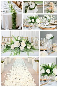 Reception Wedding Flowers to match Davids Bridal Colors in DIY decorating kit cheap reception decorating ideas