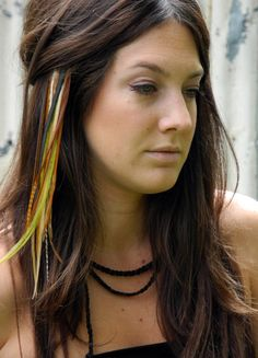 Feather Hair Extension #dental #poker