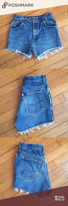 High Wasted Shorts Vintage Great Plains high wasted denim shorts. Shorts Jean Shorts