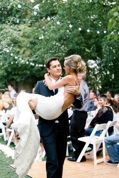 Carrying your bride down the aisle at the end of the ceremony. Wedding Goals, Wedding Pictures, Perfect Wedding, Dream Wedding, Wedding Beach, Garden Wedding, May Weddings, Photo Couple, Marry You