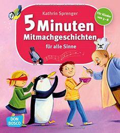 5-Minuten-Mitmachgeschichten für alle Sinne: Amazon.de: Kathrin Sprenger: Bücher