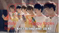 LOL Kris (still and always love him tho) | allkpop Meme Center