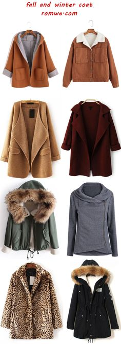 fall and winter coats from romwe.com