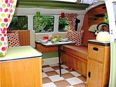 Meet The Vintage Jessie | VW Camper Vans, North Wales