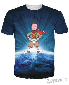 Quailman All Over Print T-Shirt - Rage On! - The World's Largest All-Over Print Online Retailer
