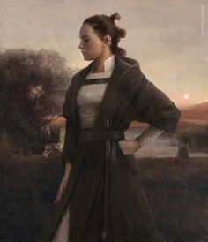 """wearepaladin: """"Rey by Eve Ventrue """""""