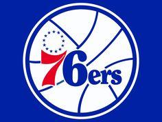 Philadelphia 76ers Logo http://www.nba.com/sixers/ http://pinterest.com/nbadraftboss