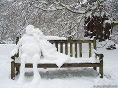 Winter in Kew Gardens. Kew Gardens, Surrey, England.