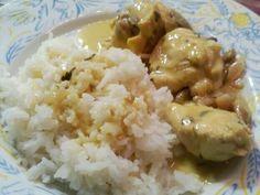 Κοτόπουλο με μουστάρδα, μανιτάρια και εστραγκόν