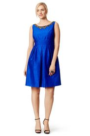 Out to Sea Dress by Kay Unger