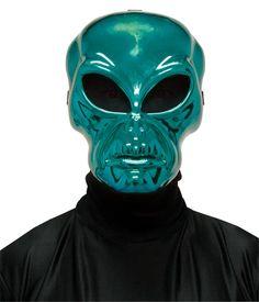 Alien Hockey Green Mask Mask