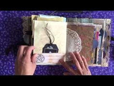 Junk Journal Book of Shadows - YouTube