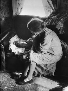 Child With Measles, Appalachia ~ I pinned this under history, but every mom knows what its like to sit by a child's sick bed.