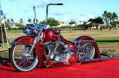 No photo description available. Harley Bobber, Harley Softail, Harley Bikes, Harley Davidson Motorcycles, Bagger Motorcycle, Motorcycle Clubs, Motorcycle Style, Custom Harleys, Custom Bikes