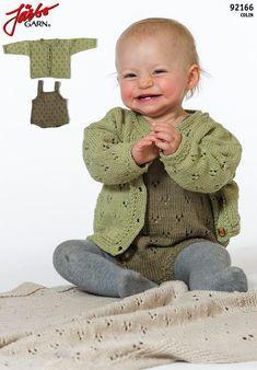 Underbar barntröja med luva och vackert mönster. OBS