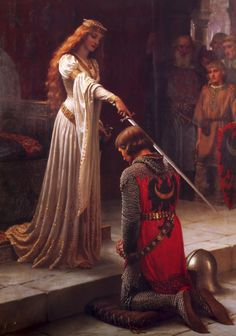 The first woman to ask for divorce and lead an army, Eleanor of Aquitaine lived until she was 82 (pretty good considering most died in their 40s). She got a formal education, which was really rare for women in that era. There are rumours that she poisoned her second husband Henry II's mistress, the Fair Rosamund.     (Painting by Edmund Blair Leighton)